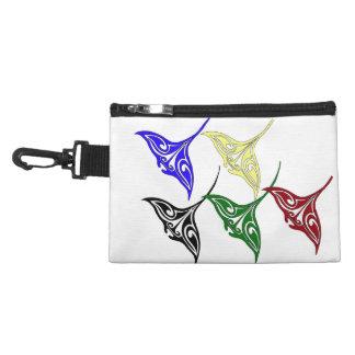 Colorful Tribal Hawaiian Rays Accessory Bags