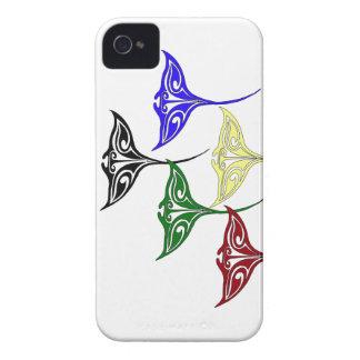 Colorful Tribal Hawaiian Rays Case-Mate iPhone 4 Case