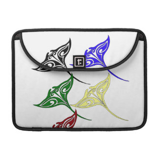 Colorful Tribal Hawaiian Rays MacBook Pro Sleeve