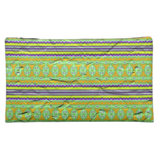 Colorful Tribal pattern Cosmetic Bags
