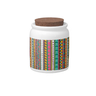 Colorful Tribal pattern Candy Dish