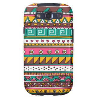 Colorful Tribal pattern Galaxy S3 Case