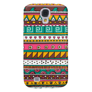 Colorful Tribal pattern HTC Vivid Covers