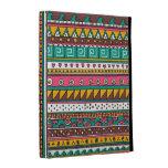 Colorful Tribal pattern iPad Folio Cases