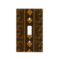 Colorful Tribal Pattern Light Switch Cover