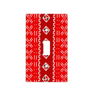 Colorful Tribal Pattern Light Switch Plate