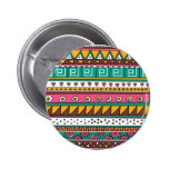 Colorful Tribal pattern Pins