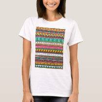 Colorful Tribal pattern T-Shirt