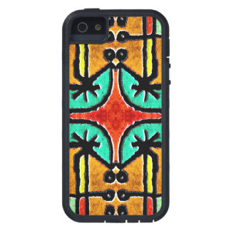 Colorful Tribal Style Geometric Pattern iPhone SE/5/5s Case