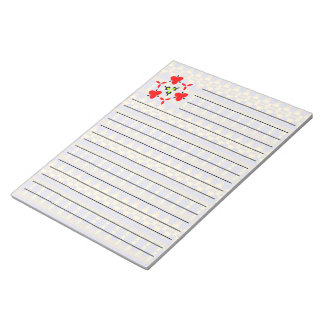 Colorful tribal unique pattern note pad