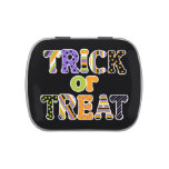 Colorful Trick or Treat Jelly Belly Tin