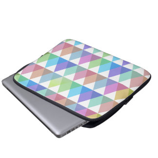 colorful trifish more hipster macbook computer sleeve