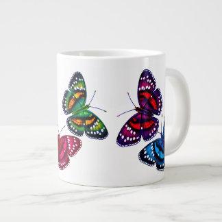 Colorful Tropical Butterflies Jumbo Mug