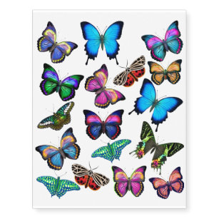 6606b1d0a Swallowtail Butterfly Temporary Tattoos | Zazzle