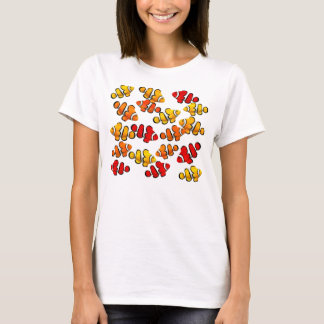 Colorful Tropical Clownfish Ladies Spaghetti Top