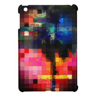 Colorful Tropical Collage Mosaic Cover For The iPad Mini