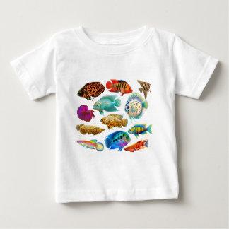 Colorful Tropical Fish Infant T-shirt