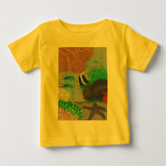 Colorful Tropical fish painting Tees