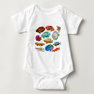 Colorful Tropical Fish Shirt