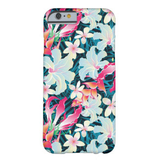 Colorful Tropical Pattern Barely There iPhone 6 Case