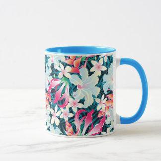 Colorful Tropical Pattern Mug