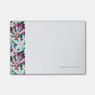 Colorful Tropical Pattern Post-it® Notes