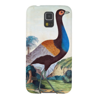 Colorful Trumpeter Bird Case For Galaxy S5