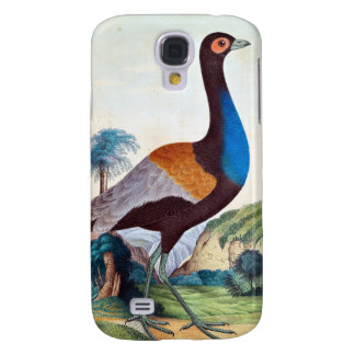 Colorful Trumpeter Bird Samsung Galaxy S4 Cover