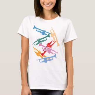 Colorful Trumpets T-Shirt