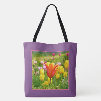 Colorful Tulips_321_B_R2 Tote Bag