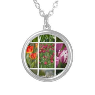 Colorful Tulips Necklace