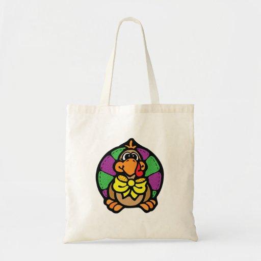 colorful turkey bag