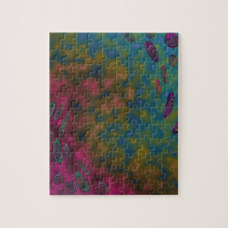 colorful twirl abstract jigsaw puzzle