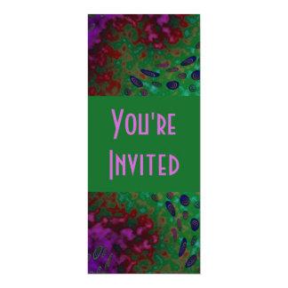colorful twirls card