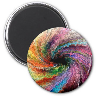 Colorful Twister Magnet