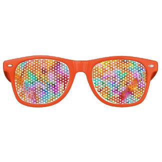 Colorful Tye Dye Wayfarer Sunglasses
