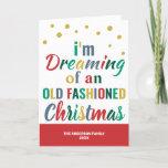 Colorful Typography Funny Christmas Goodbye 2020 Holiday Card