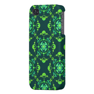 Colorful UFO Inspired Crop Circle iPhone 4 Case