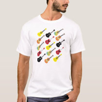Colorful Ukulele Collections Shirt