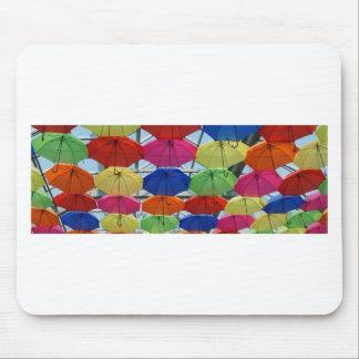 Colorful Umbrella Mouse Pad
