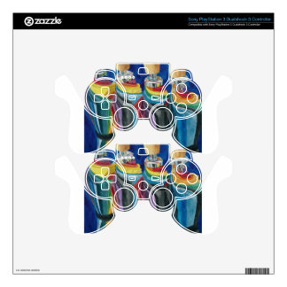 Colorful Umbrellas Skins For PS3 Controllers
