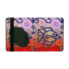 Colorful Under the Sea Bubbly Fish Swimming Mosaic iPad Case
