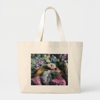 Colorful Underwater Aquarium Coral Reef Large Tote Bag