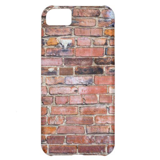 Colorful uneven brick wall iPhone 5C cases
