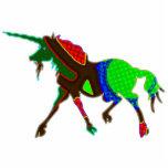 Colorful Unicorn Photo Cutout