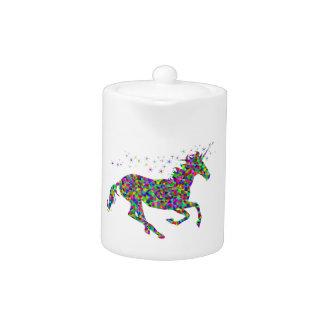 Colorful Unicorn Teapot