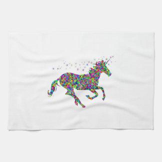 Colorful Unicorn Towel