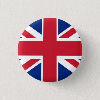 Colorful Union Jack Pinback Button