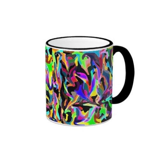 Colorful unique coffee mug zazzle for Coffee mugs unique design