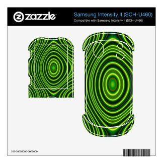 Colorful unique pattern samsung intensity skins